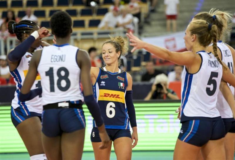 Calendario Italia Volley.Volley Femminile Europei 2019 Quarti Di Finale In Diretta