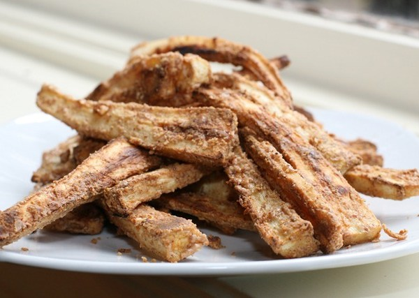 Fabulous Almond-Crusted Parsnip Oven Fries