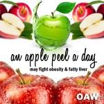 apple peel a day