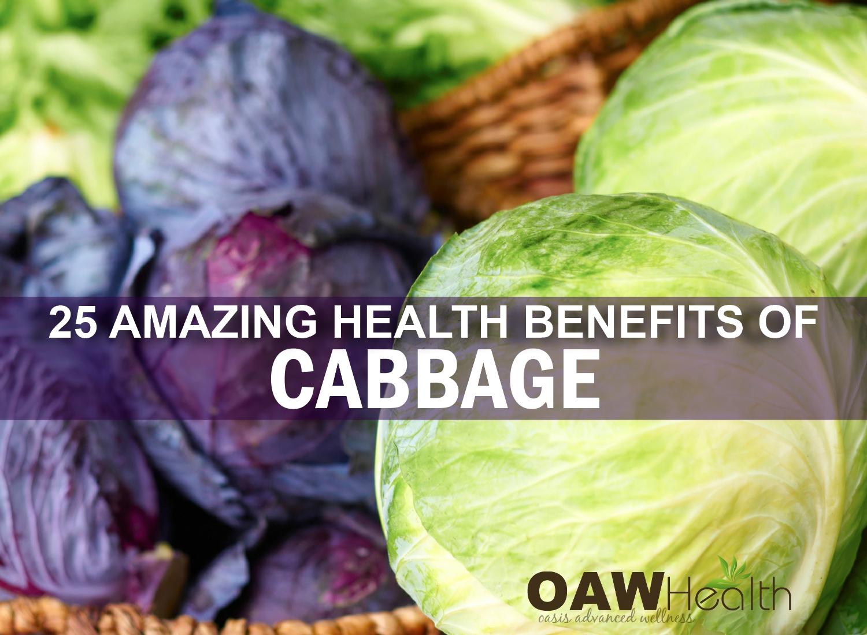 25 Amazing Health Benefits of Cabbage