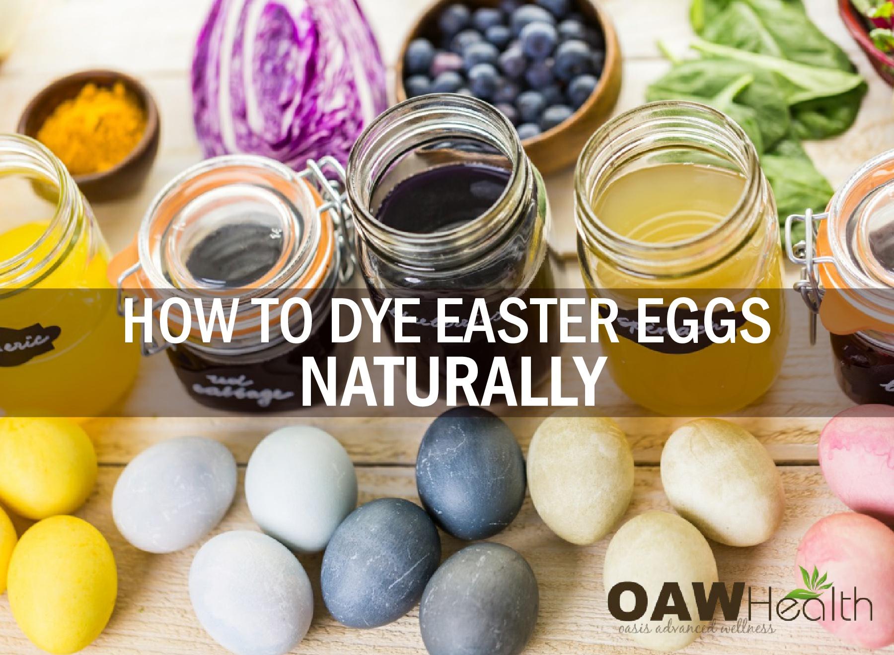 DIY Natural Dyes for Easter Eggs