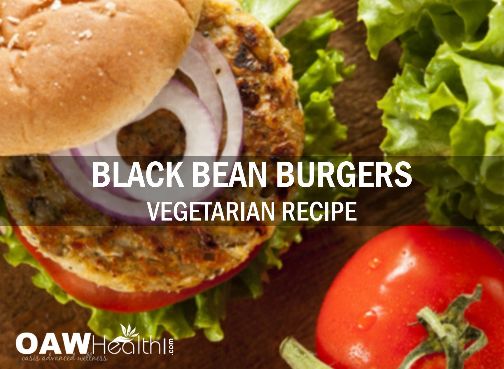 Vegetarian Black Bean Burgers