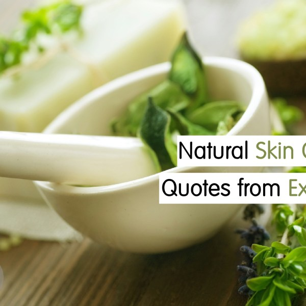Best Natural Skincare Quotes
