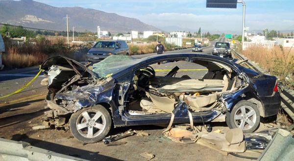Fatal accidente de estudiantes en Tlacolula