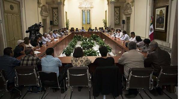 mesa de dialogo