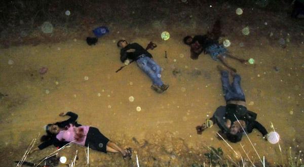 En operativo logran captura de 3 personas que presuntamente asesinaron a familia en Miahuatlán
