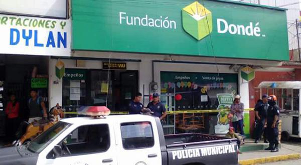 Asaltan fundación Dondé dejando dos lesionados