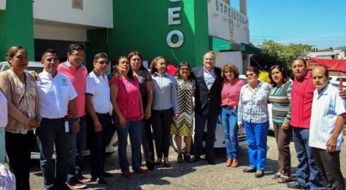 Gobierno y STPEIDCEO entregan premiosa madres trabajadoras