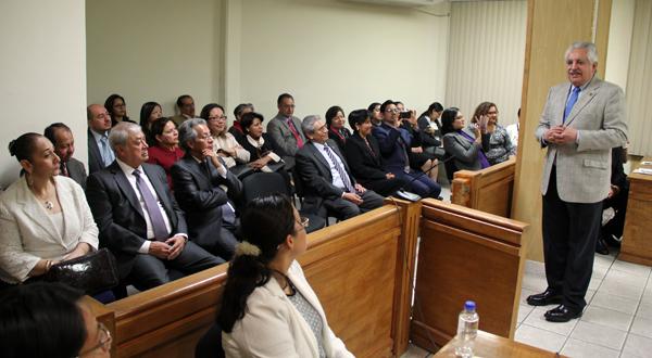 Oaxaca, preparado para enfrentar los nuevos modelos de justicia: RBC