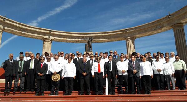 En Huajuapan masones rinden homenaje a héroes oaxaqueños
