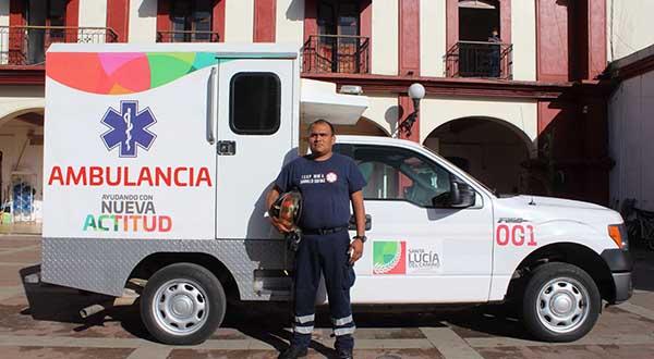 Raúl Cruz, como presidente de Santa Lucía, ofrece un nuevo servicio de Emergencias en el municipio