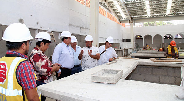 Definen detalles en obra del Mercado Ignacio Zaragoza