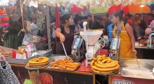 Arremete contra puesto de churros en la feria de Huajuapan; preso