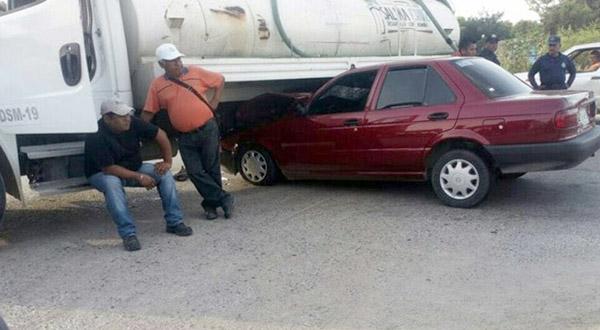 Empleado del ayuntamiento provoca accidente
