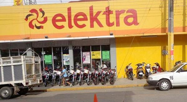 Asaltan tienda Elektra