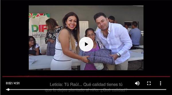 !! AUDIO ESCÁNDALO !!  Raúl Cruz, Presidente de Santa Lucía, es acusado por su propia esposa de violento y drogadicto