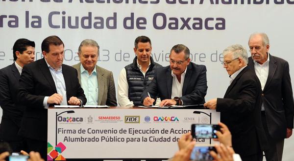 Con una Oaxaca iluminada, logramos la ciudad que queremos