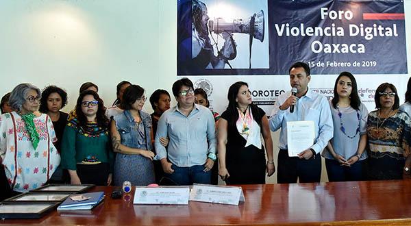 Congreso de Oaxaca, abierto para legislar sobre violencia digital