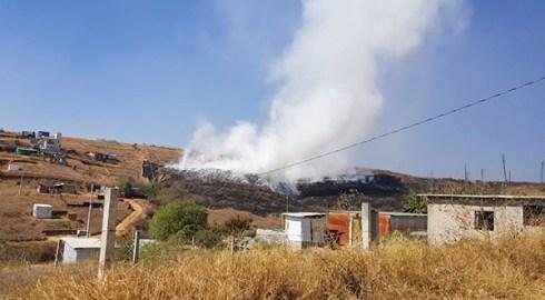 En riesgo de intoxicación miles de Oaxaqueños por humo en el incendio del basurero Clandestino de Atzompa