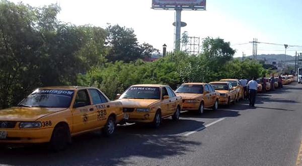 Piden revisar taxis donde se han cometido robos