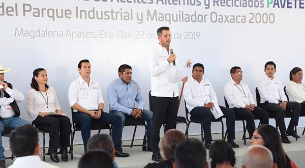*AMLO, tercera visita *Oaxaca centro industrial del Sureste de México: AMH