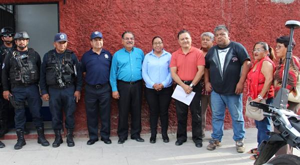 Gobierno de Oaxaca de Juárez instala módulo de seguridad en Jalatlaco