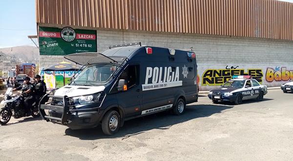 Por compras de fin de año, refuerzan Ayuntamiento y SSPO vigilancia en la Central