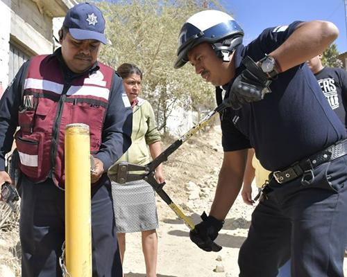 Reabre Ayuntamiento calle obstruida al tránsito vehicular en Guadalupe Victoria