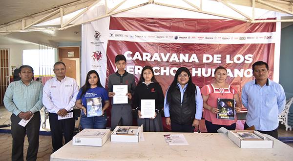 Caravana de los Derechos Humanos llega a Pueblo Nuevo como factor de cohesión social