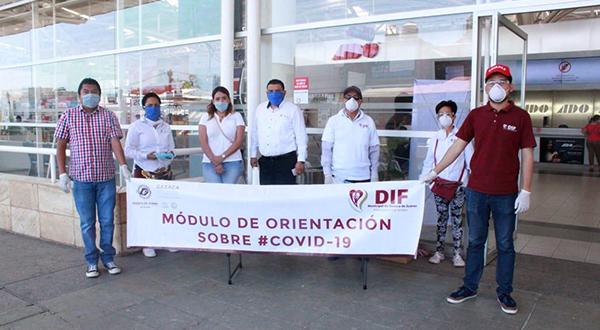 Fortalece Ayuntamiento protocolos de sanidad en Mercado de Abasto y terminal de autobuses