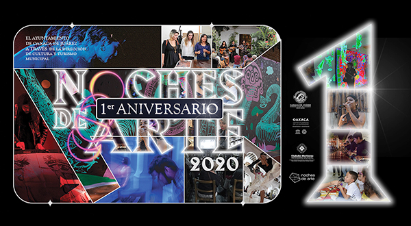 """Cumple """"Noches de Arte"""" un año de impulsar el bagaje artístico y cultural de Oaxaca de Juárez"""