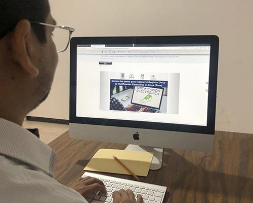 Invita PJE a abogados y abogadas a realizar el registro único de notificación electrónica