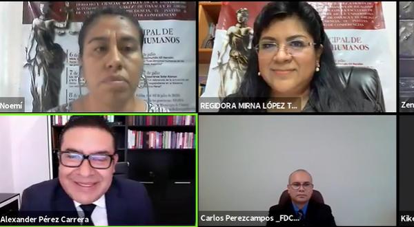 Inicia la Semana Municipal de los Derechos Humanos en Oaxaca de Juárez
