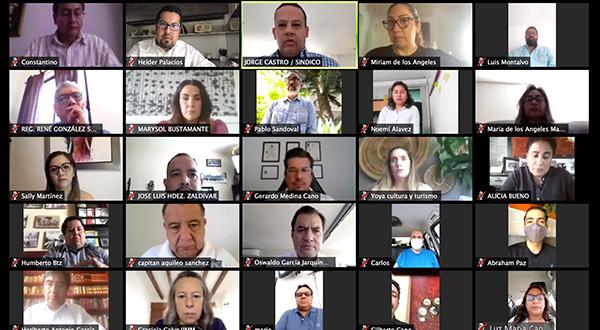 Servidores públicos de Oaxaca de Juárez son ejemplo de solidaridad en la crisis sanitaria