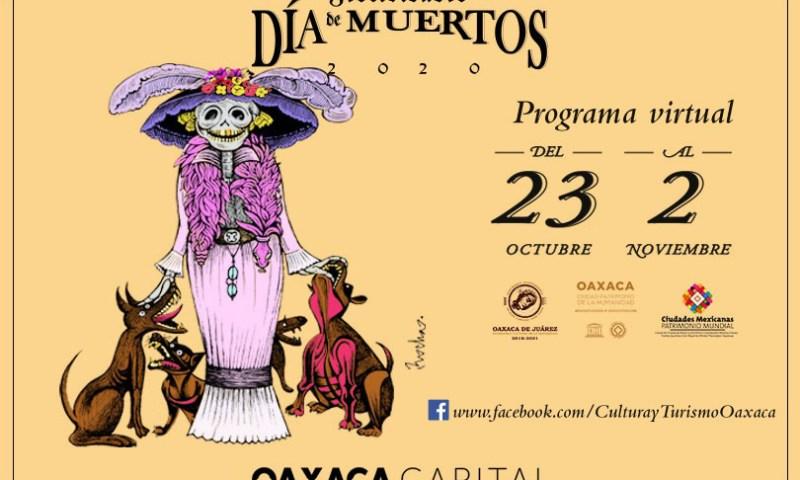 Celebra desde casa la temporada de Día de Muertos con programa virtual del Ayuntamiento