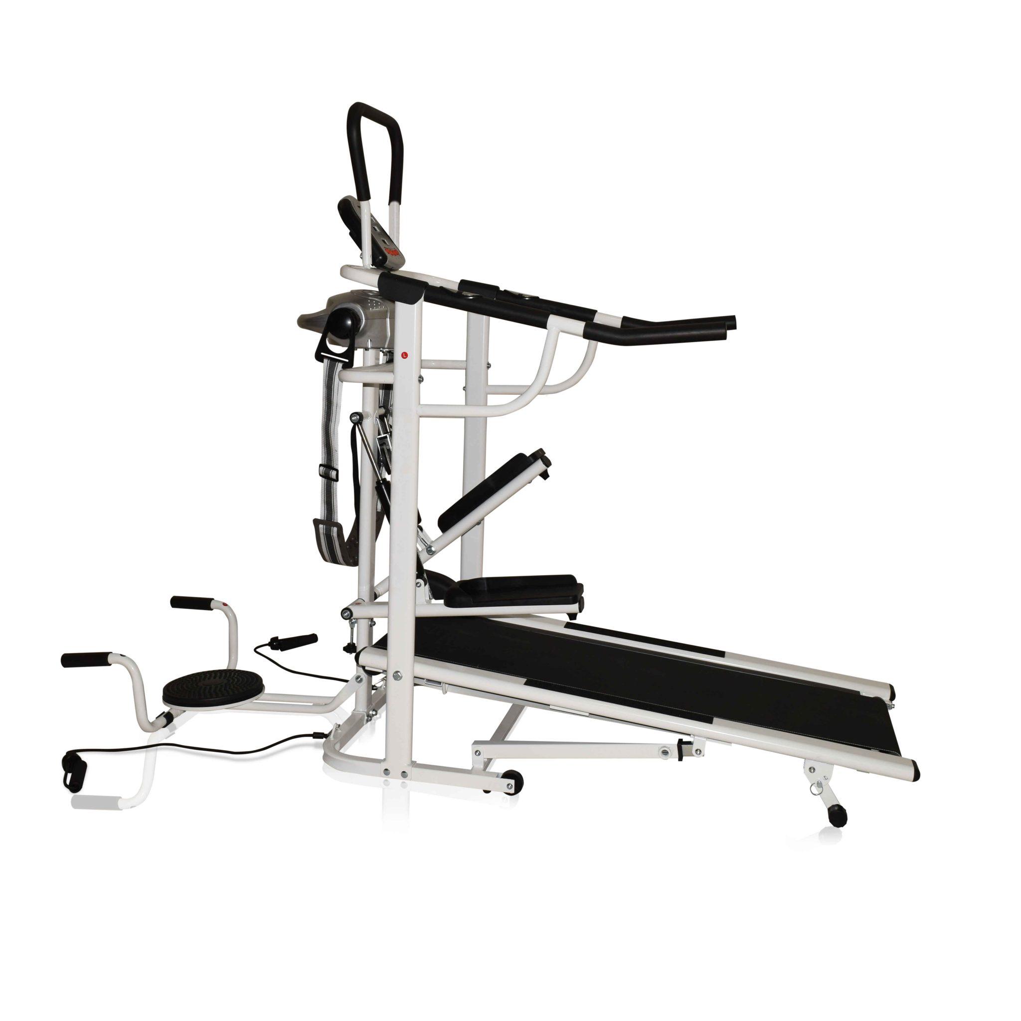 Manual Treadmill OB-2003 Multifungsi Dilengkapi Belt Massager, Twister, Stepper