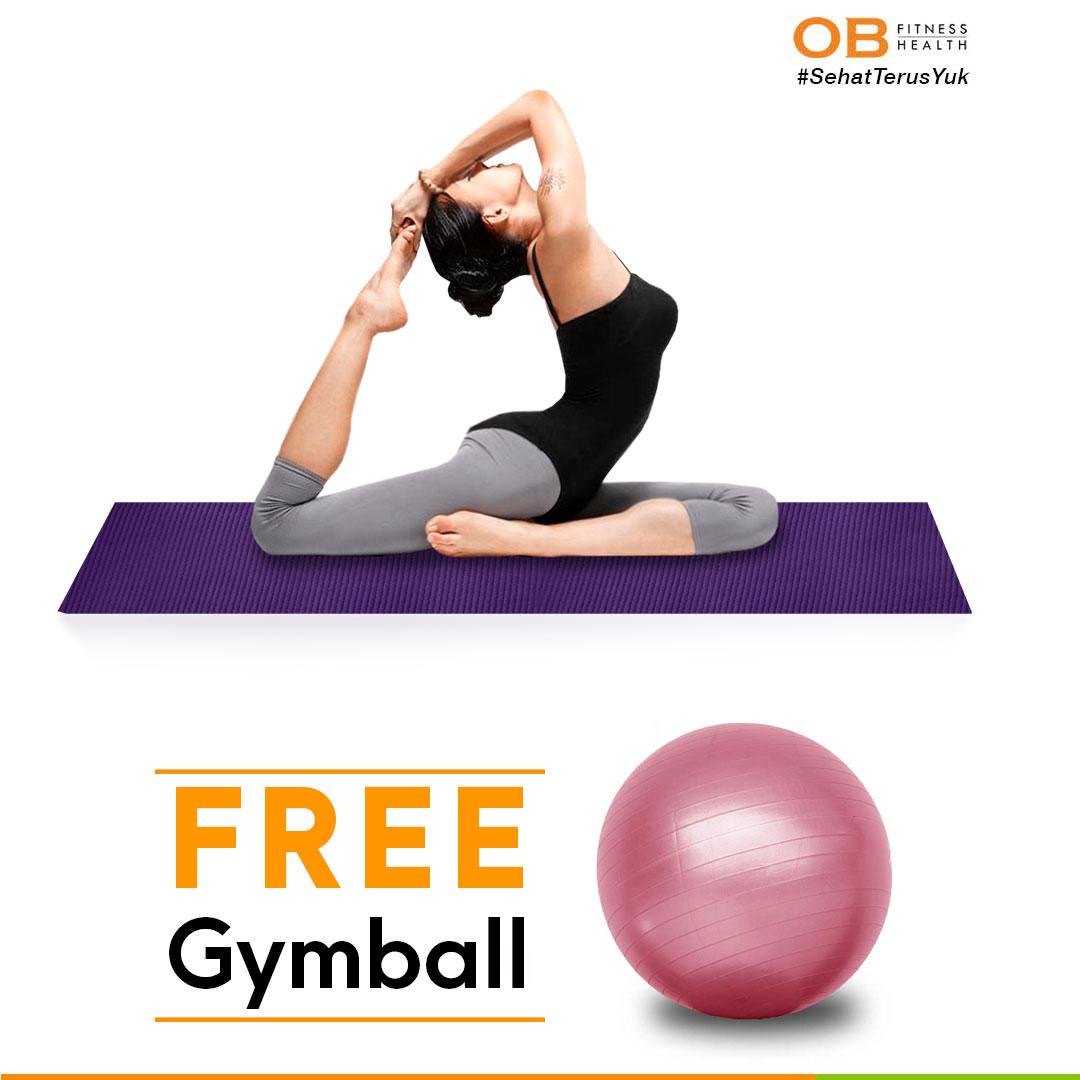 Matras Yoga 6mm Free Gymball Best Seller