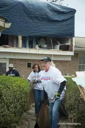 Operation Blessing Albany, Georgia tornado relief