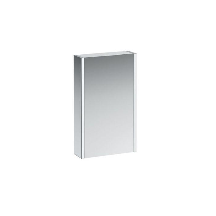 Laufen Armoire De Toilette Miroir 25 Led 2583019001451 45cm Porte Gauche Cote Blanc