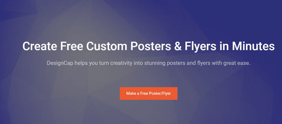 DesignCap Poster maker tutorial