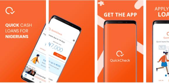 quick check loan app in Nigeria