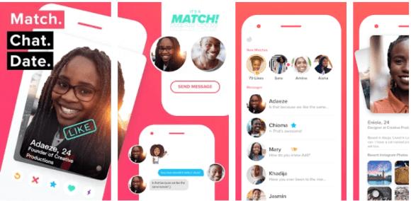 Tinder dating app for Nigerians