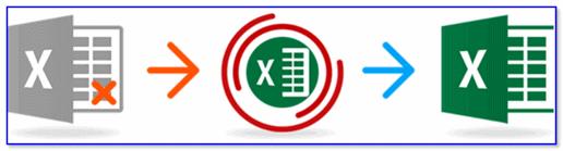 excel files reapair tutorial