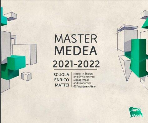 Eni-MEDEA Master in Energy Scholarships