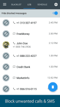 call and SMS blocking apps
