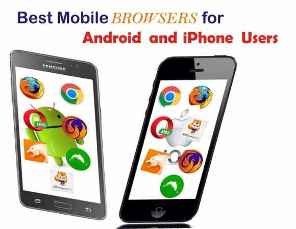 Best 7 mobile internet browsers for Android and iOS