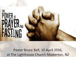 The Power of Fasting and Prayer