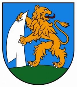 erb obce Víťaz