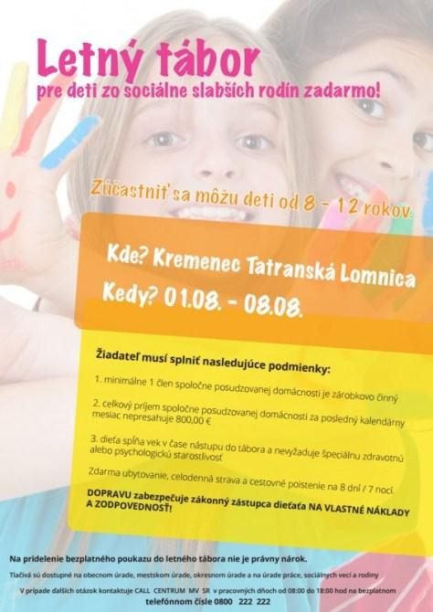 Info leták_Kremenec Tatranská Lomnica