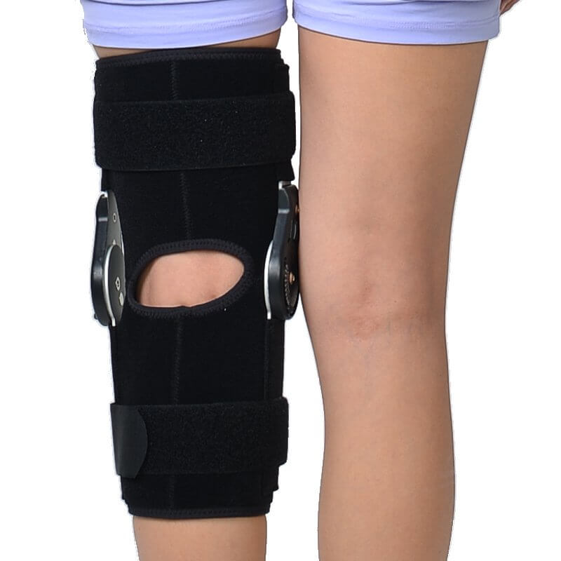 Hinged ROM Knee Brace, Post Op Knee Brace for Recovery Stabilization, ACL, MCL and PCL Injury Hinged Knee Braces Ober Health 5